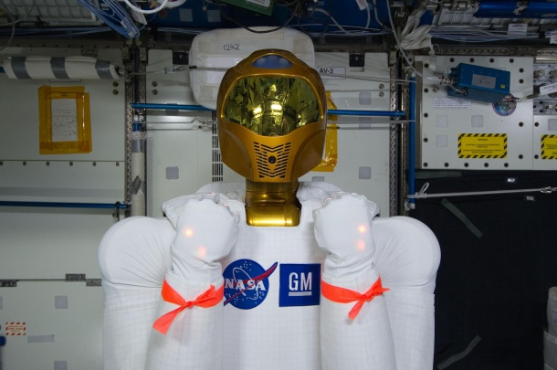 Robonaut installed on ISS