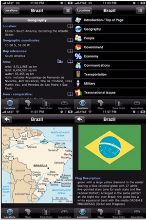 2011 World Factbook iPhone app