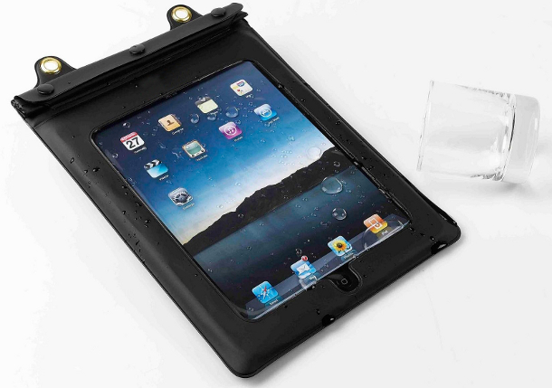 iPad Hut's waterproof iPad case