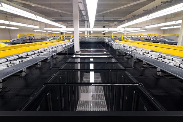 Datacentre cold aisle
