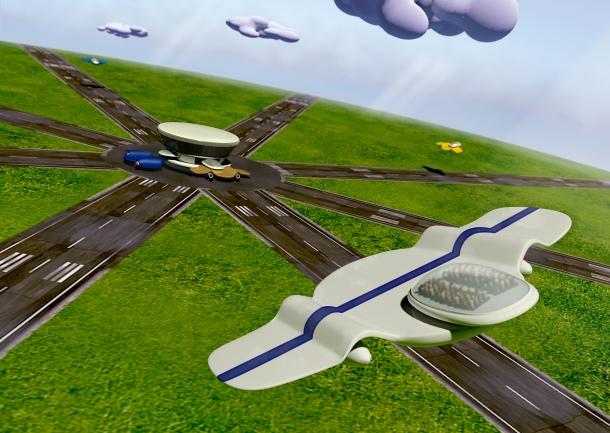 Future airport pod
