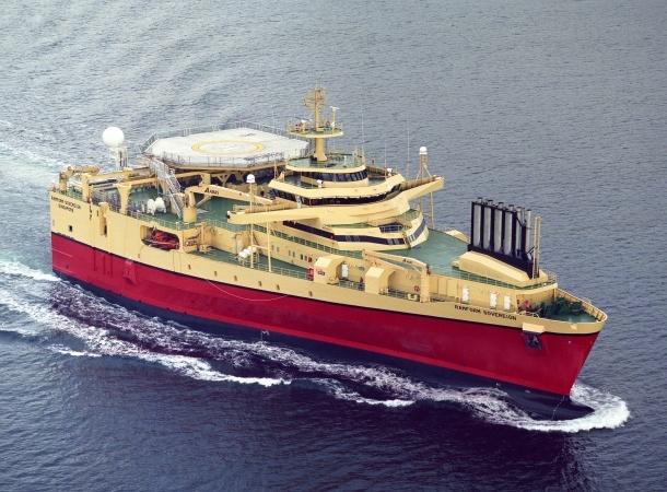 PGS ship Ramform Sovereign