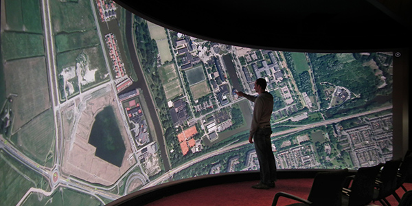World's largest touchscreen
