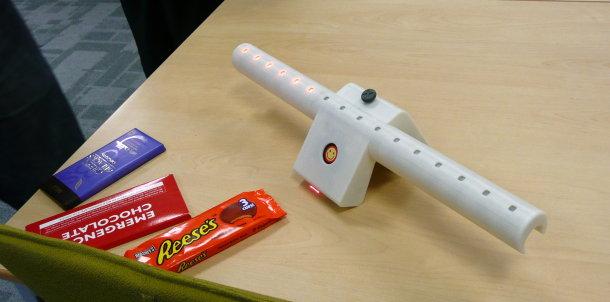 Open University shopping air miles scanner prototype