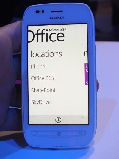 Nokia Lumia 710 Office features