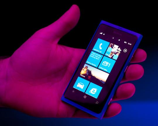 Nokia's Lumia 800