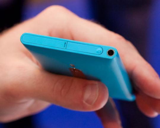 Nokia's Lumia 800 top view