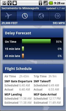FlightTrack Pro Android app