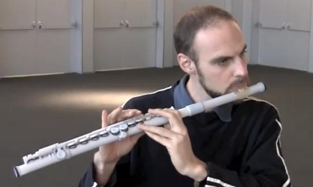 3D printed flute
