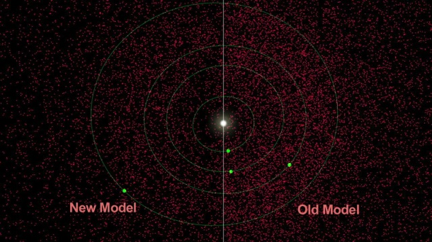 Density of asteroids in solar system