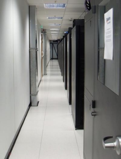 Telstra's rack enclosure