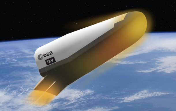 ESA's IXV space wedge