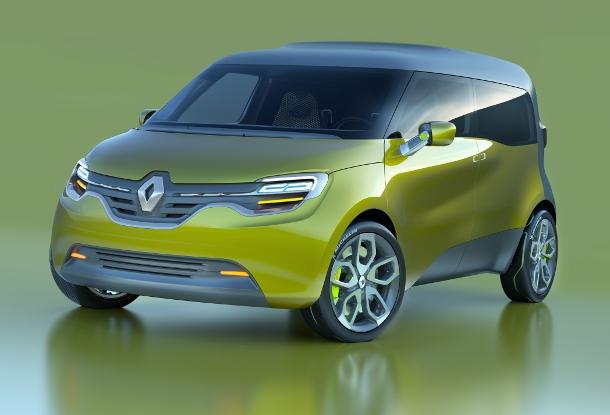 Renault Frendzy front three-quarters