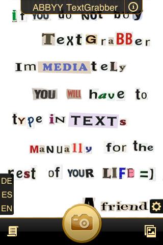 Abbyy TextGrabber