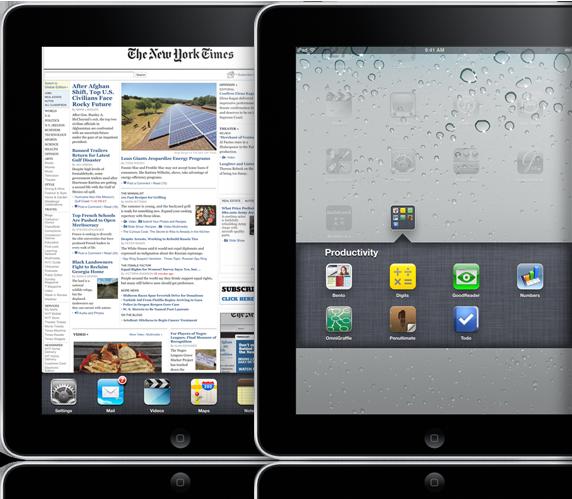 Apple iPad iOS 4.2