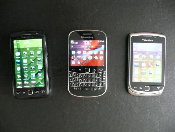 BlackBerry new smartphones