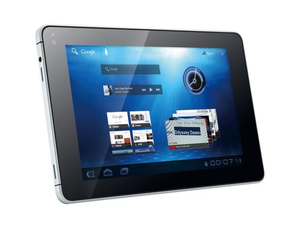 Huawei MediaPad seven inch screen