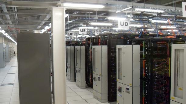 Rackspace's Slough-based datacentre