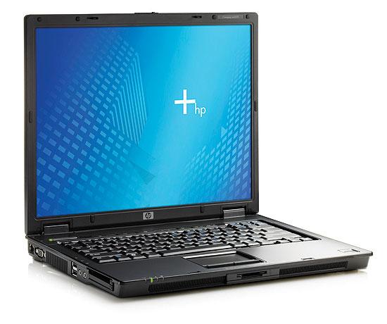 HP's Compaq nx6325 notebook