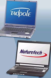 First laptops from Sun