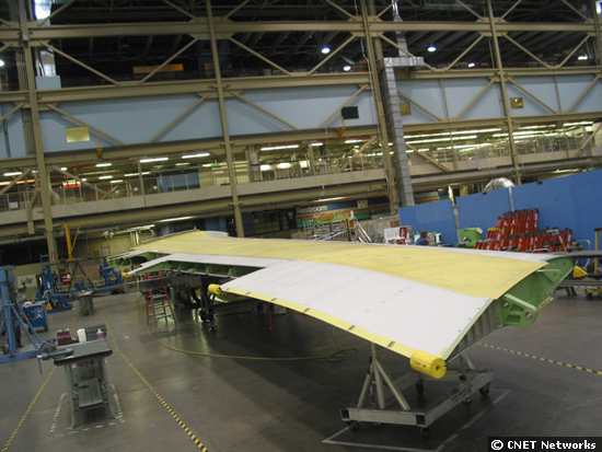 747 Wing Part