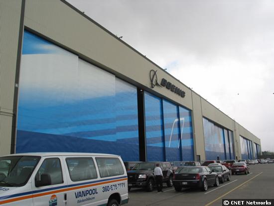 Boeing Factory Doors