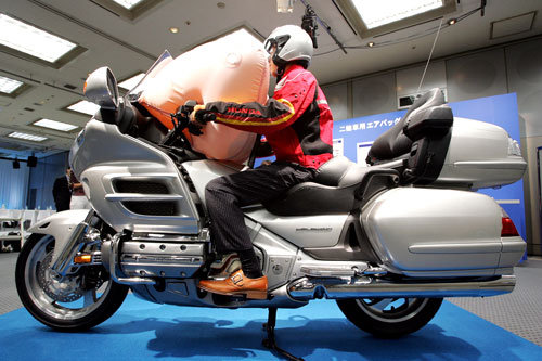 Honda motorcycle airbag