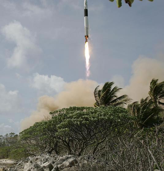 Falcon 1 launch