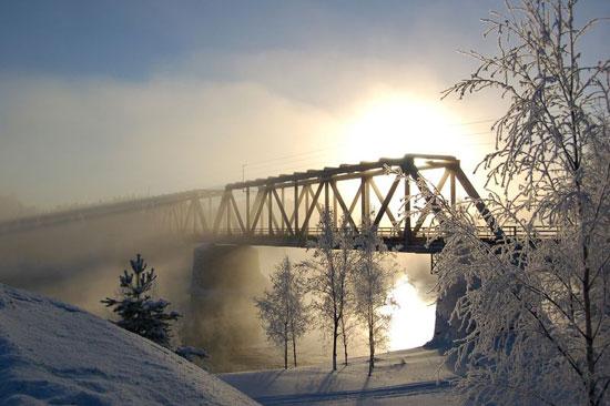 Vaalankurkku railway bridge