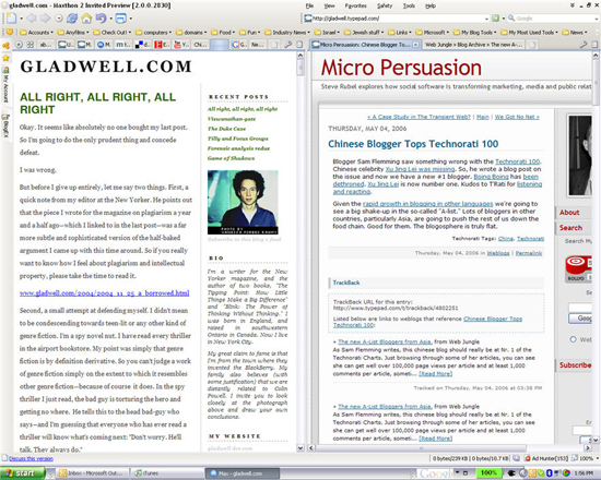 Parallel browsing