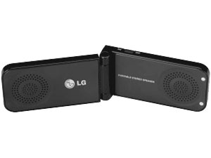3. LG Portable Stereo Speakers MSP-100