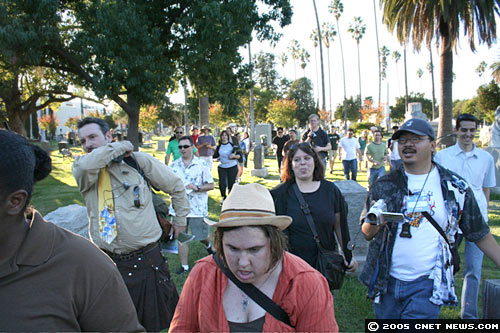 Graveyard Games crowd