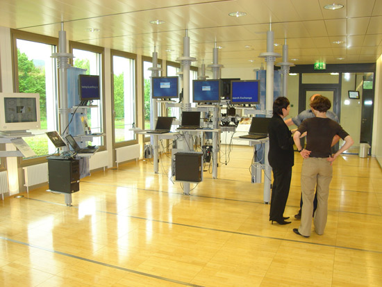 Leading-edge products on display at IBM's Zurich center