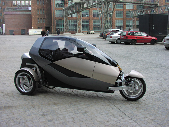 The Clever prototype minicar
