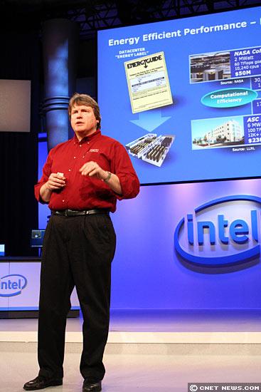 Photo: Intel's Steve Pawlowski