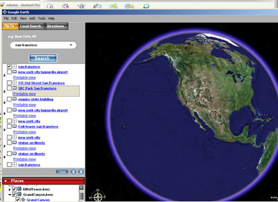Google takes a different view of Earth