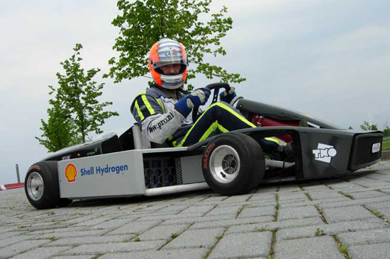 Fuel-cell kart