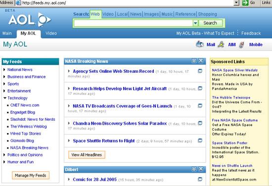 My AOL beta