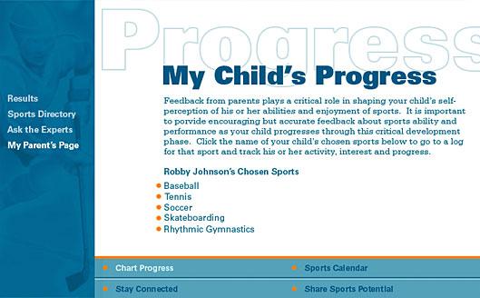 Parents' page