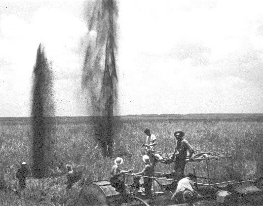 Field explosion