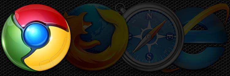 Browser logos