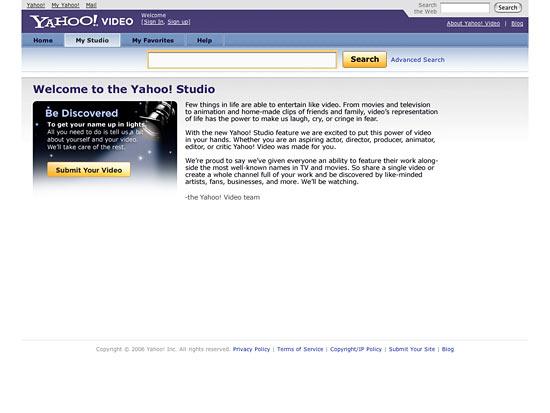 Yahoo Studio