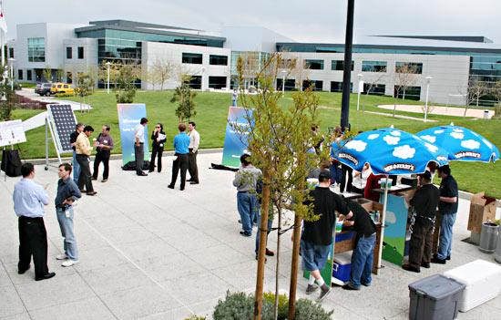 Microsoft's Silicon Valley campus
