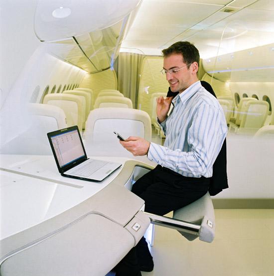 Airbus 350 work station