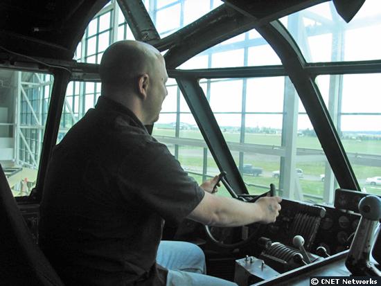 Dan in Spruce Goose