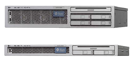 Image: The Sun Fire X4100 and X4200