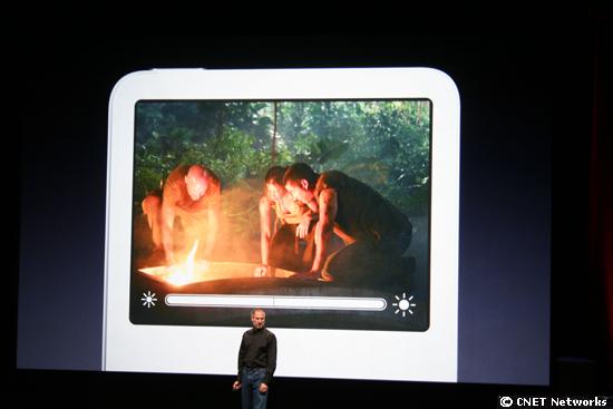 Steve Jobs and iPod