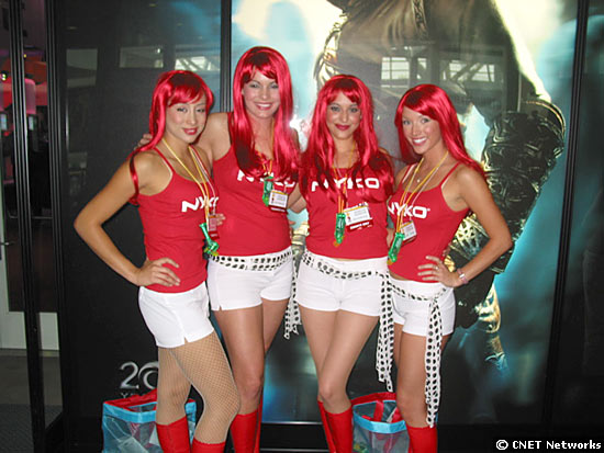 Nyko booth babes