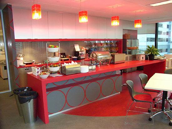 Google Australia's kitchen