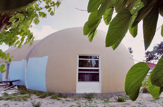 Dome home - exterior